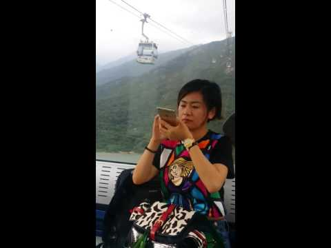 Ngong Ping 360 with my XGF pic (Cable Car)