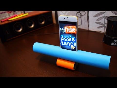 Как сделать мини мобильный телепромптер своими руками/How to make a mini mobile phone teleprompter