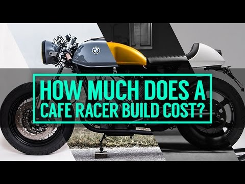 How much does it cost to build a cafe racer motorcycle? - YouTube