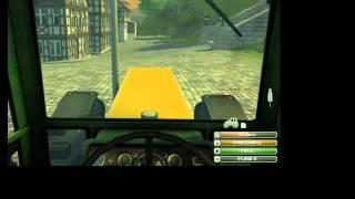 Играю в игру Farmer Simulator 2013 серия 1