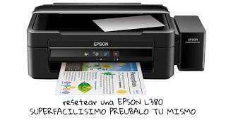 Resetear una EPSON L380 L383 L385 L485 L130 L220 L310 L360 METODO SUPERFACIL