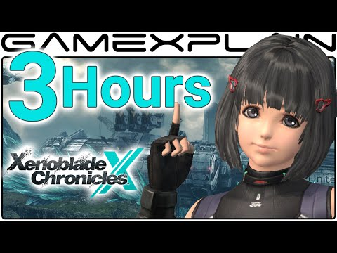 3 Hours of Xenoblade Chronicles X Gameplay - Spoiler-Free (Livestream Archive)