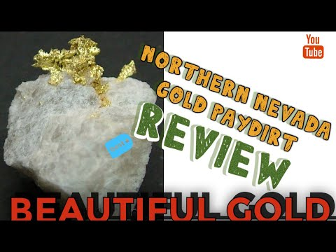 Northern Nevada Gold 1/2 Pound Paydirt Review