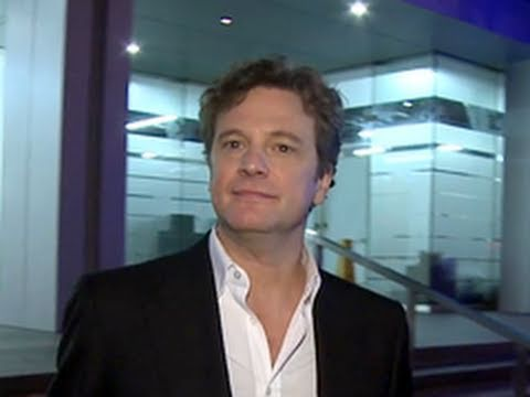 Colin Firth Leaves Soho House