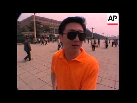 CHINA: BEIJING: LOCAL PEOPLE GIVE REACTION TO RELEASE OF WANG DAN