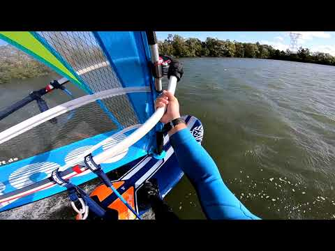 Windsurf during the