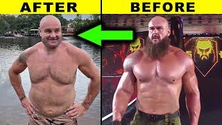 5 Saddest Ex WWE Body Transformation 2021 Braun Strowman New Look 2021