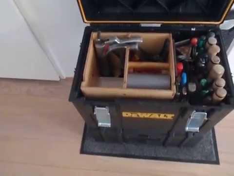 Dewalt Tough System Dwst 08204 Ds400 Xl Case Wooden Isert