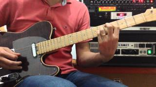 YOUR LOVE   THE OUTFIELD GUITAR COVER ANDY30