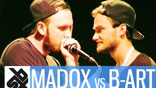 madox vs b art   shootout beatbox battle 2016   quarter final