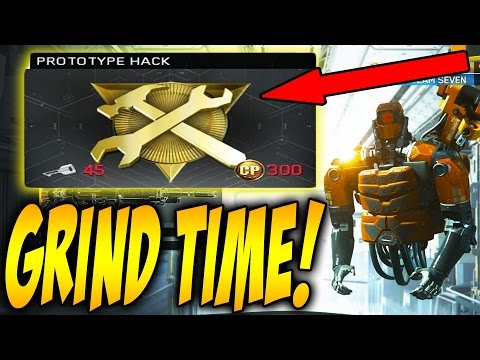 PROTOTYPE HACK GRIND TIME! EARNING &OPENING PROTOTYPE HACKS IN INFINITE WARFARE