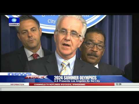 2024 Summer Olympics: U.S Presents Los Angeles As Bid City  02/09/15