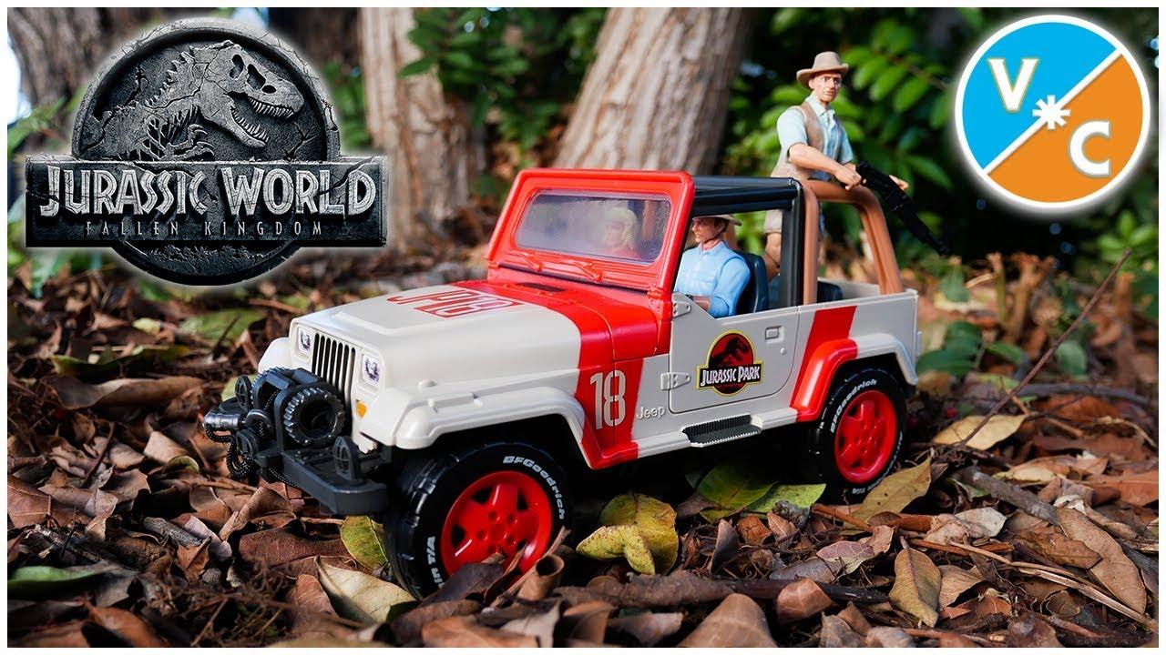 Mattel Matchbox 2018 Jurassic World Fallen Kingdom Jeep Wrangler