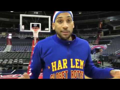 Trick Shots in Washington DC | Harlem Globetrotters