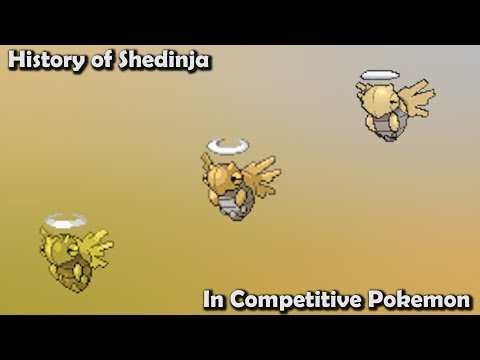How GOOD Was Shedinja ACTUALLY? - History Of Shedinja In Competitive Pokemon (Gens 3-7)