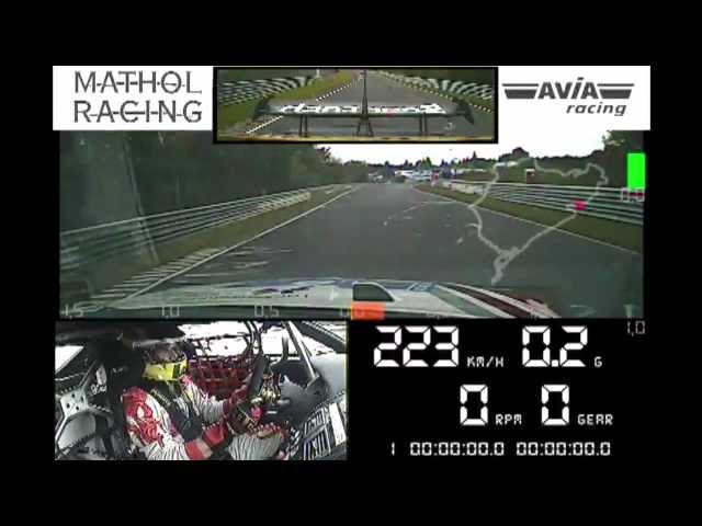 AVIA racing Aston Martin Onboard beim 24h Rennen am Nürburgring