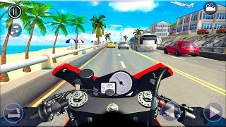 Real Bike 3D Racing - Gameplay Android game - Motobike Race Game