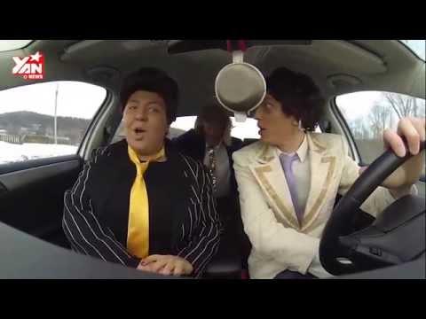 Màn hát nhép trong xe hơi khiến cư dân mạng  rần rần