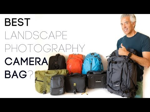 The Best Landscape Photography Camera Bag | F-Stop Ajna camera bag review