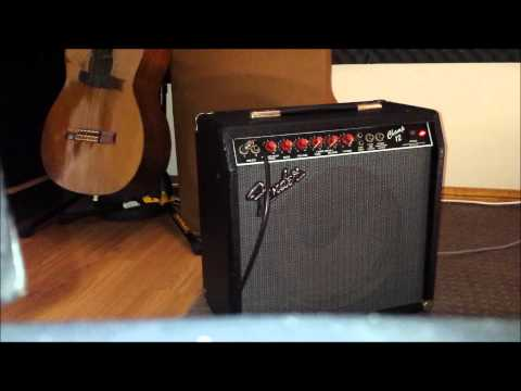 Fender Champ 12 amplifier clean. Red Knob Demo..All original