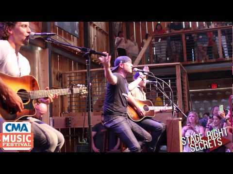 Cole Swindell Acoustic Let Me See Ya Girl CMA Fest 2015 HGTV Lodge
