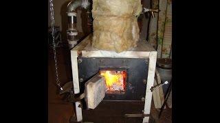 РАКЕТНАЯ ПЕЧЬ 2 (Rocket Stove) в системе отопления дома. Часть1.