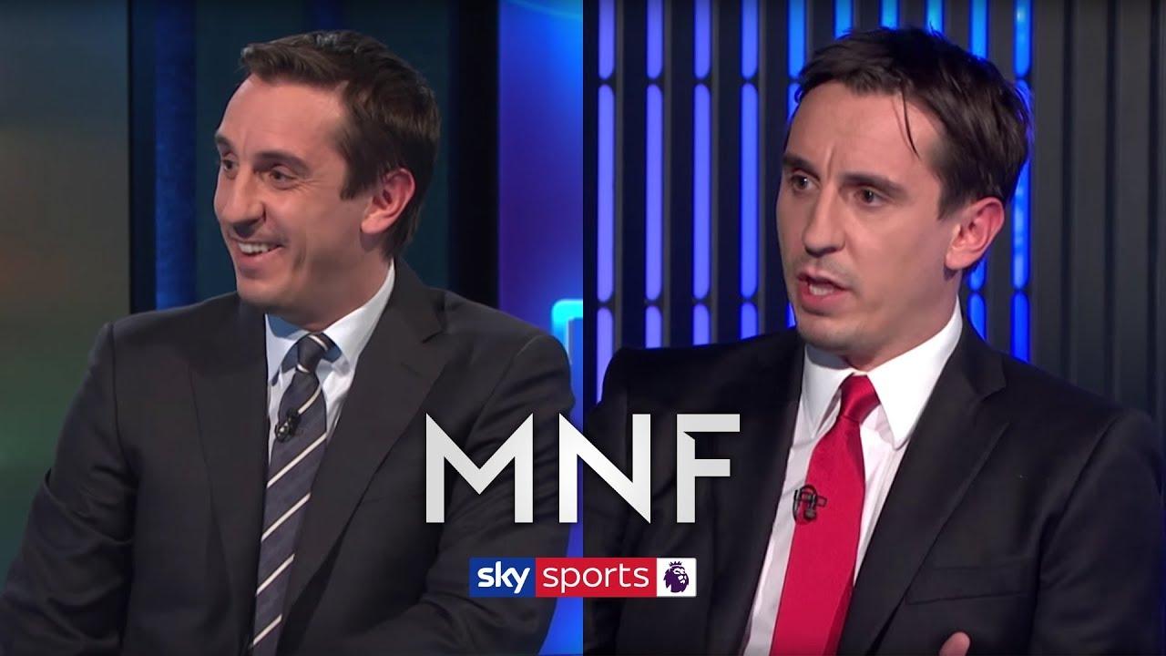 Gary Neville's best moments on Sky Sports! | MNF