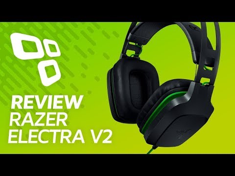 Headset Razer Electra V2 - Review/Análise - TecMundo