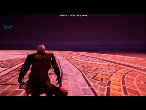 devil may cry Dante - God of War PS4 style (CONCEPT) thumbnail