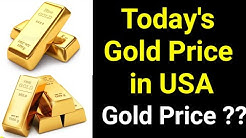 Today's Gold Price In Usa