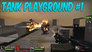 Friendly Fire is our Middle Name - TANK PLAYGROUND #1 Left 4 Dead 2