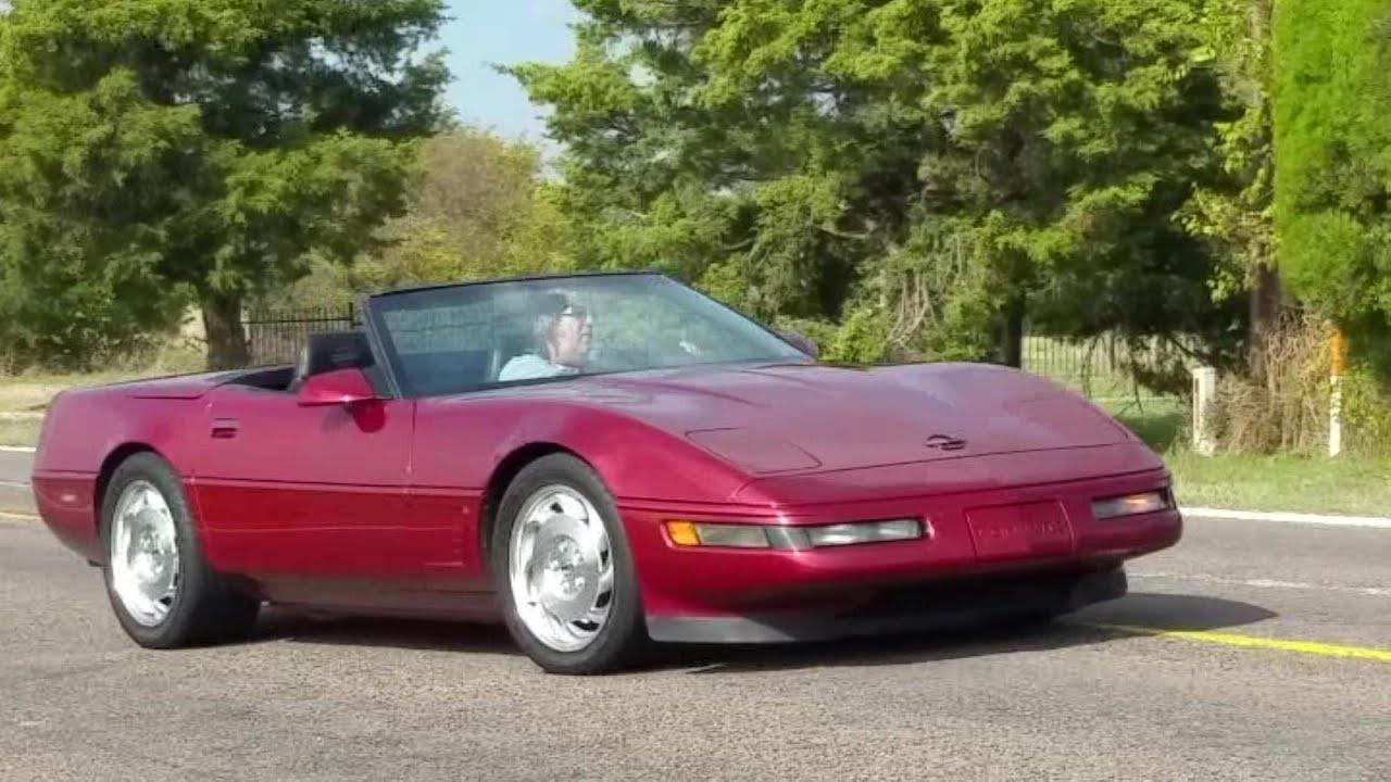 1995 chevrolet corvette convertible 6 speed c4 vette youtube. Black Bedroom Furniture Sets. Home Design Ideas
