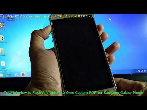 Custom ROM for Samsung Galaxy J7 2016 Android 8.1.0 OREO