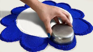 how to make rangoli powder