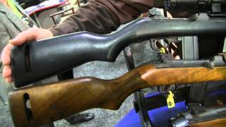 a new ithaca trench gun from inland and m1 carbines shot show 2016