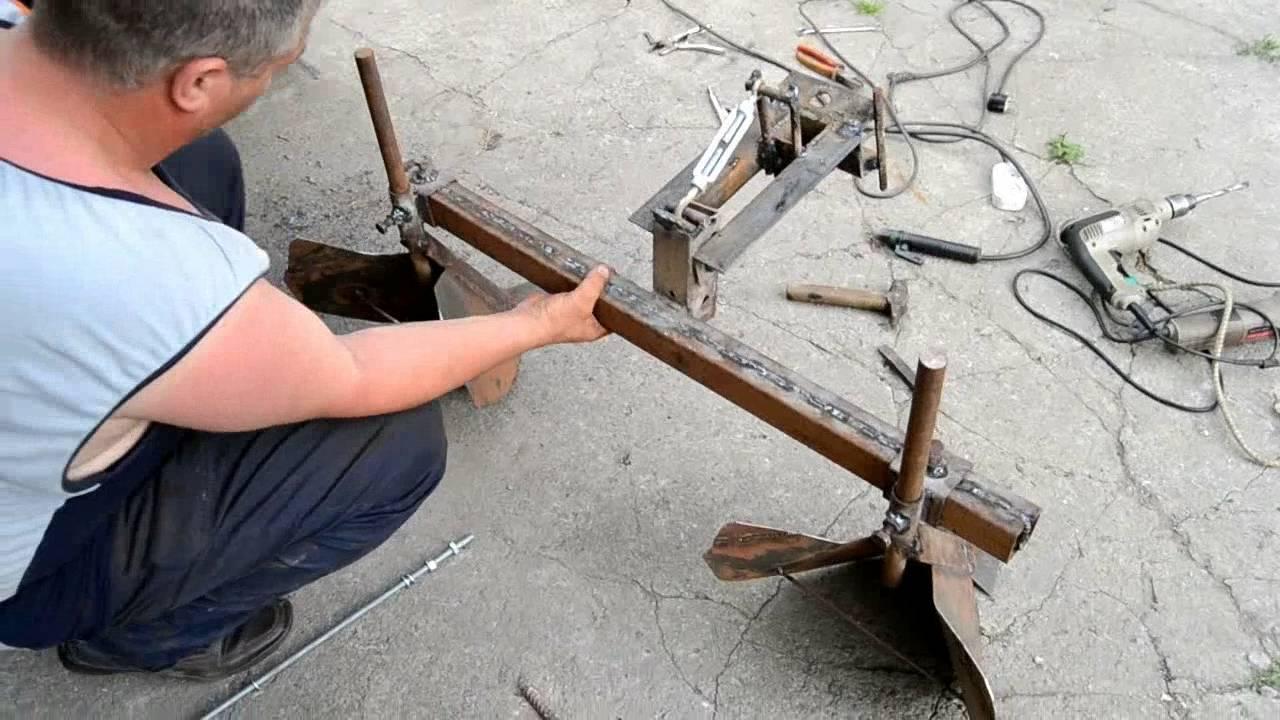 Окучиватель для мотоблока своими руками видео фото 135