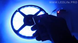 Контроллер RGB-ленты 20 кнопок, радио(Радио контроллер для светодиодной RGB-ленты. Радиус действия 20-30 метров. Прочитать подробнее и купить можно..., 2014-02-22T21:15:23.000Z)