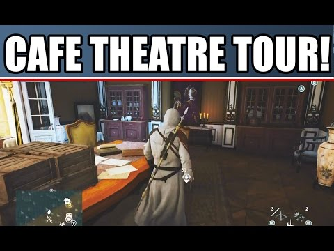 Assassin's Creed Unity Cafe Theatre Gameplay Walkthrough This Is How To Make Money PS4 Xbox One PC