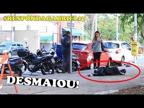 DESMAIANDO DURANTE DESAFIO! #RESPONDAGABRIEL27