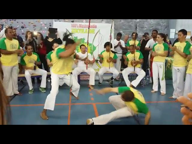 Batizado escola de capoeira uniao prof Portuga e prof Nicuri