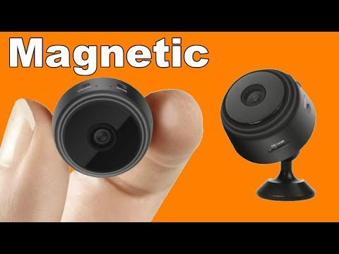 Magnetic Micro Wifi Camera Settings