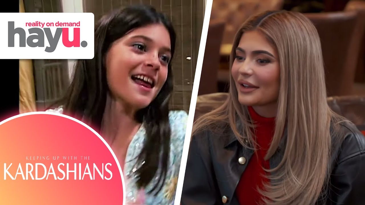 Kylie Jenner's First and Last Moment on KUWTK |Keeping Up With The Kardashians