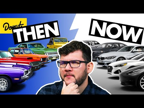 Why Car Colors Are Boring Now