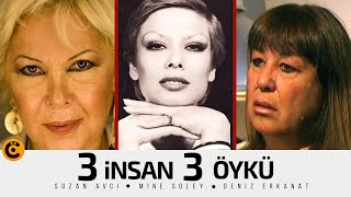 """<b>Suzan Avcı</b> - Mine Soley - Deniz Erkanat """"3 İnsan 3 Öykü"""" Belgeseli ..."""