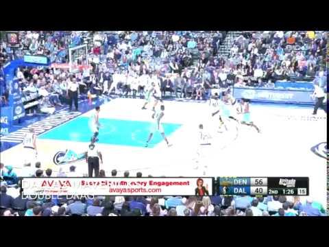 Dallas Mavericks   Man Offense - Double Drag