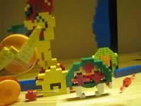 Lego metroid - YouTube