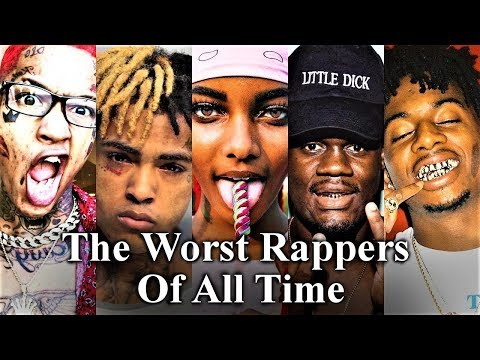 Top 50  The Worst Rappers Of All Time Part 3