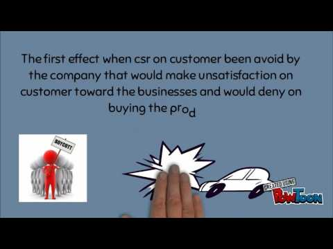 Effect of csr on consumer UMT