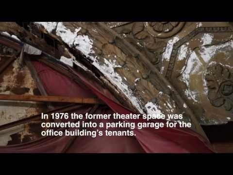 Inside Detroit's Former Michigan Theatre, Now A Parking Garage