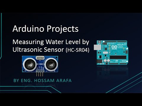 Measuring Water Level By Ultrasonic Sensor (HC-SR04)